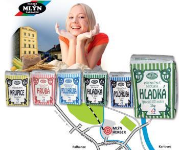 prodej a výroba mlýnských výrobků ve vlastním mlýně, Opava, MLÝN HERBER spol. s r.o.