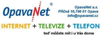 Internet, televize, telefon Opava, OpavaNet a.s. Internet + Televize + Telefon