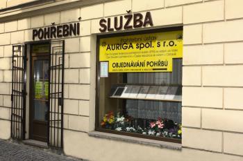 Poh�ebn� �stav AURIGA� spol. s r.o. kancel�� Novobransk�, Litom��ice