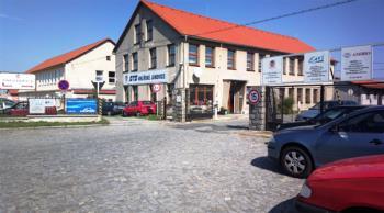 Budova firmy, STS Uhlířské Janovice, s.r.o.