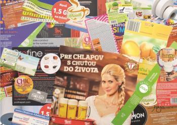 pap�rov� roli�ky do kas, TECOM paper s.r.o. V�roba a prodej etiket Praha