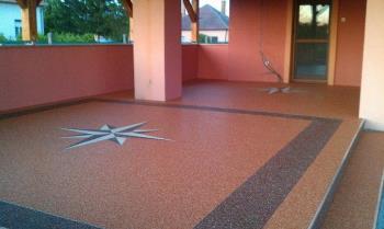 Podlaha z kamínků, PRESSTONE IP TRADE BRNO s.r.o.