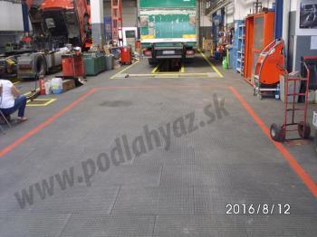 Autoservis nákladných automobilov, PRIEMYSELNÉ PODLAHY A - Z, s. r. o.