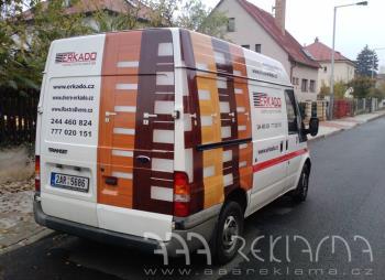Polepy aut, Světelná reklama Praha