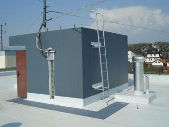 Hydroizolace střechy v Trutnové od firmy POPAS, POPAS CZ, s.r.o.