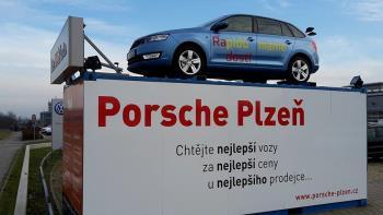 Prodej nov�ch i ojet�ch voz� �koda, Plze�, Porsche Inter Auto CZ s. r.o. Porsche Plze�