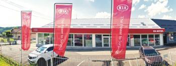 Autorizovaný prodej a servis vozidel značky Kia, AUTOCENTRUM KAŠPAR