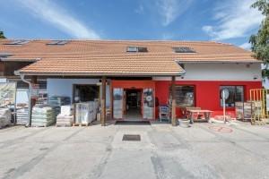 Prodejna stavebnin Šlapanice - exterier, PRO-DOMA, SE Prodejna stavebnin Šlapanice