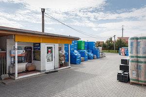 Prodejna stavebnin Uherský Ostroh - exterier, PRO-DOMA, SE Prodejna stavebnin Uherský Ostroh