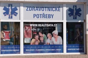 Prodej ortopedických pomůcek Ostrava, REALITDATA® Zdravotnické potřeby