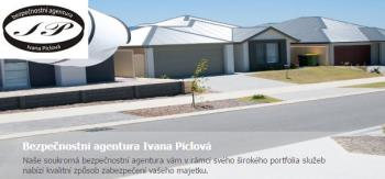 SBA Ivana Piclova Bezpecnosti agentura