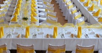 Svatební tabule, Šárka Sendlerová Hospoda U Mostu & Catering