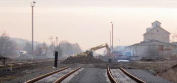 �dr�ba �eleznic, trat�, zemn� pr�ce, SE�EV-REKO, a.s. V�stavba, rekonstrukce �eleznic