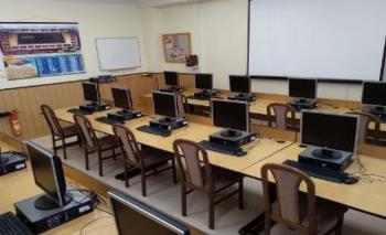Počítačová učebna, Střední škola a základní škola Žamberk
