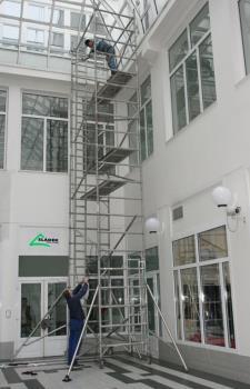 Mobilní hliníková lešení, SLÁDEK PROFI CLIMB  s.r.o Mobilní hliníkové lešení Plzeň