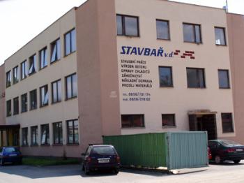 Budova firmy, STAVBA� - v�robn� dru�stvo
