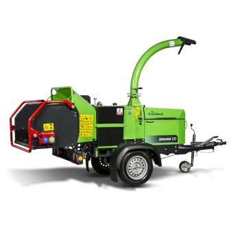 Štěpkovače s vlastním motorem, GreenMech, s.r.o.