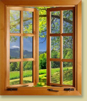 Dřevěná okna výroba