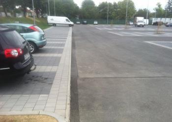 Výstavba komunikace, parkoviště Kaufland, RYBÁRIK, s.r.o.
