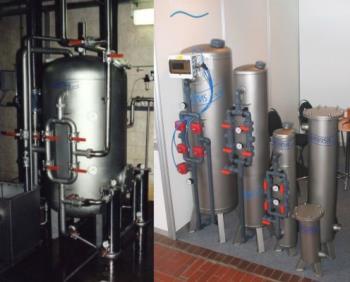 Nerezové tlakové filtry, VODASERVIS s.r.o. úpravny  vody