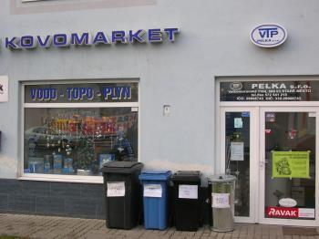 pohled na prodejnu - Staré město, VTP PELKA s.r.o.