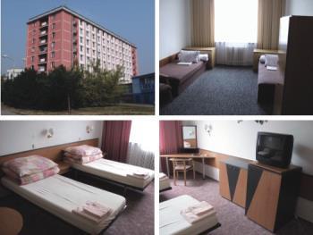 Dlouhodobé, studentské ubytování, Hotel - Hotelový dům Správa nemovitostí Olomouc, a.s.