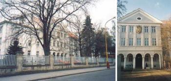 Centrum je um�st�no v budov� b�val�ho kl�tera., Centrum ucelen� l��ebn� rehabilitace a l��by bolesti Golla Franti�ek, MUDr.