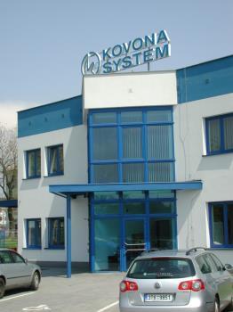 kovovýroba, KOVONA SYSTEM, a.s.