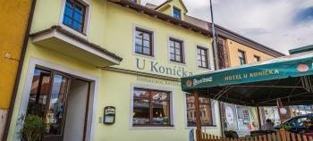 Pohled na hotel u Kon��ka, Da�ice, Hotel U Kon��ka JSWK s.r.o.