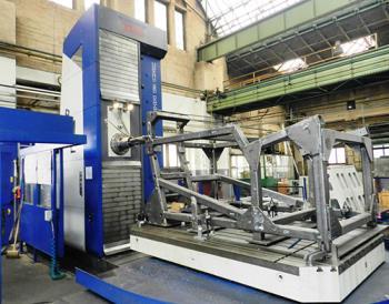 Zakázková výroba svařovaných a opracovaných strojních dílů, ZVU Servis a.s.