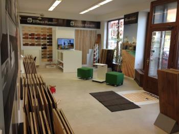 Podlahový show room Praha 6, vzorkovna, dřevěné podlahy, parkety, podlahová prkna, ZAHRADNÍK PARKET, spol. s r.o.