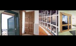 Zakázková výroba dveří a stěn