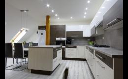 Realizace, návrh, výroba kuchyní se zárukou Nový Jičín