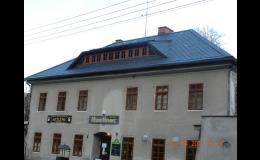 Realizace střech Liberecký kraj