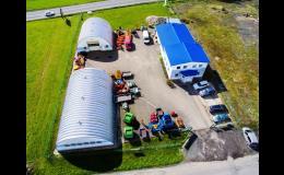 Prodejna zemědělských strojů a zařízení