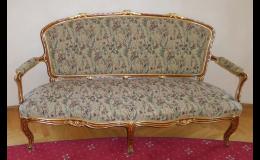 Opravy nábytku současného i starožitného