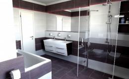 3D návrhy koupelny