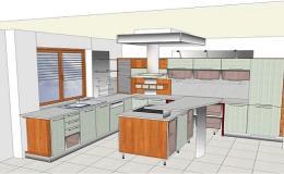 Truhlářství - zakázková výroba nábytku, kuchyní včetně 3D vizualizace Třebíč, Náměšť nad Oslavou