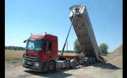 Servis nákladních vozidel, návěsů i přívěsů všech značek