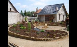Návrhy a výsadby zahrad.