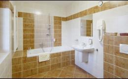 Apartmány s velkou koupelnou