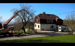 Penzion po rekonstrukci na rodinný dům