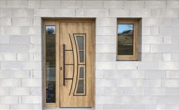 Výroba výplní pro vchodové dveře - vhodné i pro pasivní domy