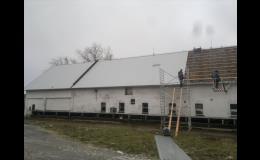 pokrývačské práce - Buček střechy