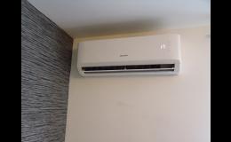 Instalace, montáž nástěnných klimatizací