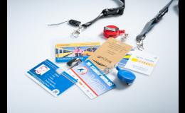 příslušenství k čipovým kartám a klíčenkám