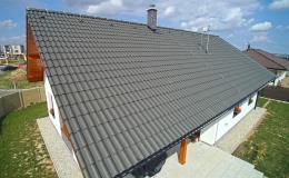 Betonové střešní krytiny Danubia zaručí kvalitu