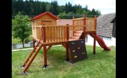 Dětský dřevěný domeček Alfons