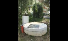 Automatická přečerpávací stanice odpadních vod