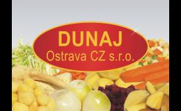 Brambory a zelenina pro gastro zařízení